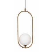 Pendente Casual Light Quality PD1333BZ-BR-OUTLET Cadre 1L G9 170x120x405mm Bronze