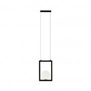 Pendente Casual Light Quality PDH1532PT Orbit  1L G9 5W 180X100X280mm Preto Total