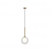 Pendente Casual Light Quality PDH1534TRDO Orbit  1L G9 5W 120X120X235mm Dourado
