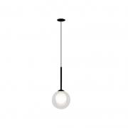 Pendente Casual Light Quality PDH1534TRPT Orbit  1L G9 5W 120X120X235mm Preto Total