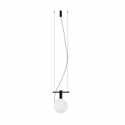Pendente Casual Light Quality PDH1544PT Hook 1L G9  5W 150x100x180mm Preto