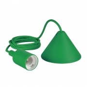 Pendente Furlight FL4019-OL Color E27 Ø40x95mm Verde