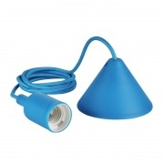 Pendente Furlight FL4020-OL Color E27 Ø40x95mm Azul