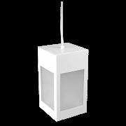 Pendente Incolustre 555.20 Mini 11 1L E27 230x125x125mm Branco