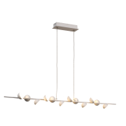 Pendente LED Mantra 30499 Piccioni 36W 3000K Bivolt 1000x70x120mm - Branco Fosco