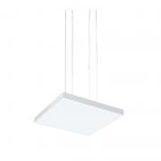 Pendente LED Newline 536XLED4 Tray 33,6W 4000K Bivolt 500x500x35mm 5000mm
