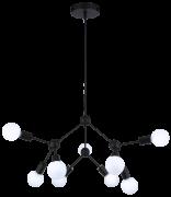 Pendente Casual Light Quality QPD13229 Cluster 9L E27 Ø660x530mm Preto