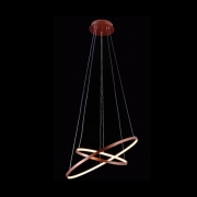 Pendente Sindora LED DCD015003 Bronze 50W 3000K Bivolt Ø400xØ600mm
