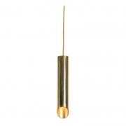 Pendente Usina 16676/40 Flauta Ø57mm Chanfro 45° 1L GU10 MR16 Ø110x400mm