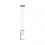 Pendete Casual Light Quality AR1471 Lynus LED 3000K 3W Bivolt 450x100x230mm Dourado