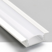 Perfil Embutir Itamonte PF-2050/2-BT 26x2000x7mm Branco Texturizado