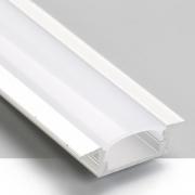 Perfil Embutir Itamonte PF-2050/3-BT 26x3000x7mm Branco Texturizado