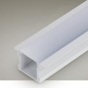 Perfil Embutir Itamonte PF-2415/3-BT 24x3000x15mm Branco Texturizado