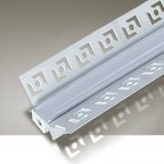 Perfil Embutir Itamonte PF-4626/2-BT 46x2000x26mm Branco Texturizado
