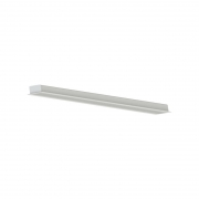Perfil Embutir LED Save Energy SE-255.2118 2M 50W 4000K 2600lm 2000x35x17,5mm - Branco