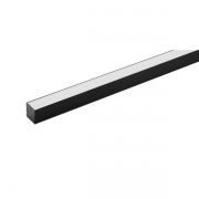 Perfil Sobrepor LED Stella STH20961PTO/27 Archi 14W 2700K 420lm 24cc 110º 1000x24x24mm Preto