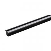 Perfil Embutir LED Stella STH20992PTO/27 Archi 56W 2700K 1500lm 24cc 90º 2000x24x24mm Preto