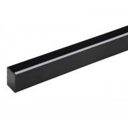 Perfil Embutir Recuado LED Stella STH21973PTO/27 Archi 28W 2700K 550lm 24cc 80º 1000x24x24mm Preto