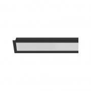 Perfil Embutir Save Energy SE-255.2005 3M LLS Flex I 3000x35x17,5mm - Preto