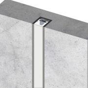 Perfil Embutir Linear LED MisterLED SLED9066A/9066D K10 Alvenaria/Drywall 7,2W/M 12V IP20 15x15mm - Prata