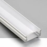 Perfil Sobrepor Itamonte PF-2040/3-BT 17x3000x7mm Branco Texturizado