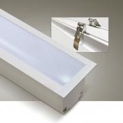 Perfil Sobrepor Itamonte PF-3535/3-BT 35x3000x35mm Branco Texturizado