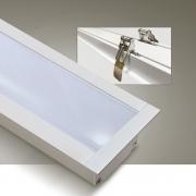 Perfil Sobrepor Itamonte PF-5035/3-BT 50x3000x35mm Branco Texturizado