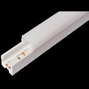 Perfil Sobrepor Linear para Fita LED Usina 30655/100 Tênue 100cm 18,5x1000x29mm