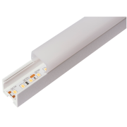 Perfil Sobrepor Linear para Fita LED Usina 30655/250 Tênue 250cm 18,5x2500x29mm