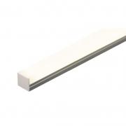 Perfil Sobrepor Lumicenter Para Fita LED LPF01-S2000 IP20 20x20x2000mm