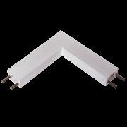 Perfil Sobrepor para Fita LED Usina 30023/QI Garbo Junção Quina 100x100mm