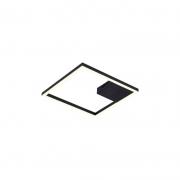 Plafon Bella GD014B Tec LED 3000K 30W 1790lm IP20 400x400mm - Preto