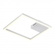 Plafon Embutir Bella GD014W Tec LED 30W 3000K 1790lm IP20 40x400x400mm - Branco