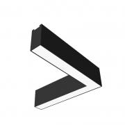 Plafon de Sobrepor LED Newline Track Junção Lateral PL0377LED4 16W 4000K Bivolt 310x310x80mm