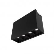 Plafon de Sobrepor LED Newline Track PL0381LED3 4 Facho 10º 4W 3000K Bivolt 80x110x40mm