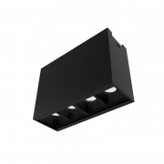 Plafon de Sobrepor LED Newline Track PL0381LED4 4 Facho 10º 4W 4000K Bivolt 80x110x40mm