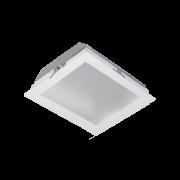 Plafon Embutir Incolustre 896.57 Slim 4L E27 350x350x58mm