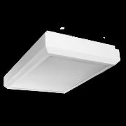 Plafon Incolustre 898.34 Up Slim 4L E27 400x300x80mm Branco