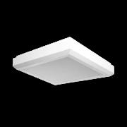 Plafon Incolustre 898.82 Up Slim 3L E27 300x300x80mm Marrom