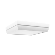 Plafon Incolustre 899.05 DUNI 30 3L E27 300x300x90mm Branco
