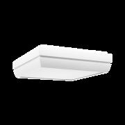 Plafon Incolustre 899.07 DUNI 30 3L E27 300x300x90mm Vermelho