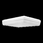 Plafon Incolustre 899.23 DUNI 6L E27 600x400x90mm Vermelho