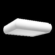 Plafon Incolustre 899.38 UNI 30 3L E27 300x300x90mm Preto