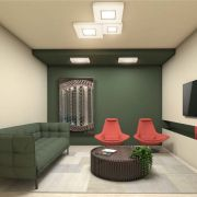 Plafon LED Bella Italia PL10102 Deep 6000K 380x380mm