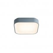 Plafon Sindora LED DCX01907 Quadrado Cinza 46W 3000K Bivolt Ø450x85mm