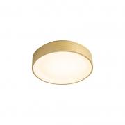 Plafon Sindora LED DCX01908 Redondo Dourado 46W 3000K Bivolt Ø450x85mm