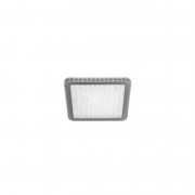 Plafon Sindora LED DCX00333 Quadrado 24W 6000K Bivolt 400x400mm