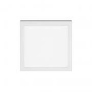 Plafon Sobrepor LED Stella STH8962Q/40 Quadrado 12W 4000K 112G Bivolt 170x170x32mm - Branco