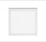 Plafon Sobrepor LED Stella STH8963Q/30 Quadrado 18W 3000K 112G Bivolt 225x225x32mm - Branco