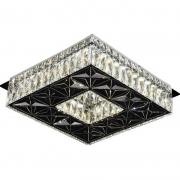 Plafon Sobrepor Sindora LED Cristal DCX00715 Quadrado 20W 3000K Bivolt 280x280mm - Transparente